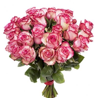 №3 Букет 25 роз Карусель