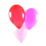 3 разноцветных гелиевых шарика