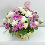 "Корзина с цветами ""Любимой"""