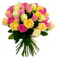 Букет 31 роза ассорти